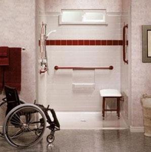 Bathroom Modifications Home Modifications Accessible Bathtub - Handicapped equipment bathroom