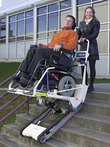 Porch Lifts Mobility Works Outdoor Wheelchair Lift