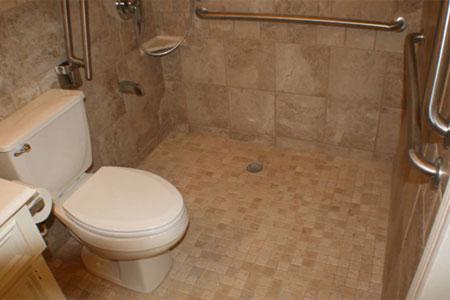 Bathroom Modifications Gallery - Bathroom modifications