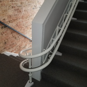 Curved Stair Lifts in Chicagoland