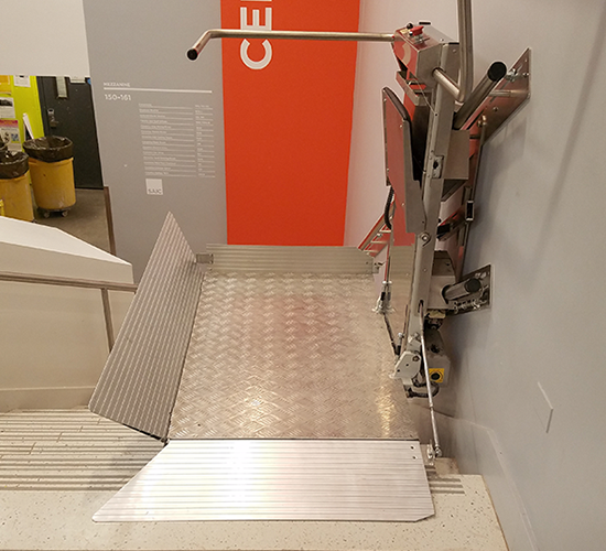 Inclined Platform Lift in Cudahy
