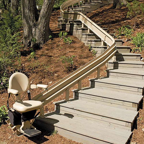 Outdoor Stair Lifts in Waukesha