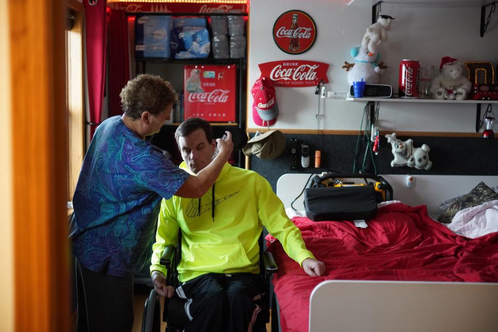 Man in Wheelchair - Photo Credit to Star Tribune