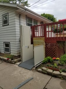Porch Lifts in Appleton and Milwaukee, WI