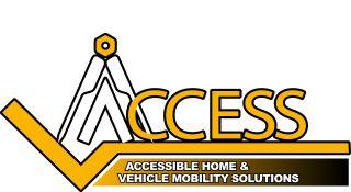 Access logo White
